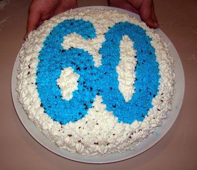 Torta Di Compleanno 60 Anni Torte Di Compleanno Auguri