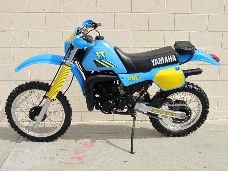 Yamaha It 490 Enduro Motorcycle Yamaha Bikes Yamaha Dirt Bikes