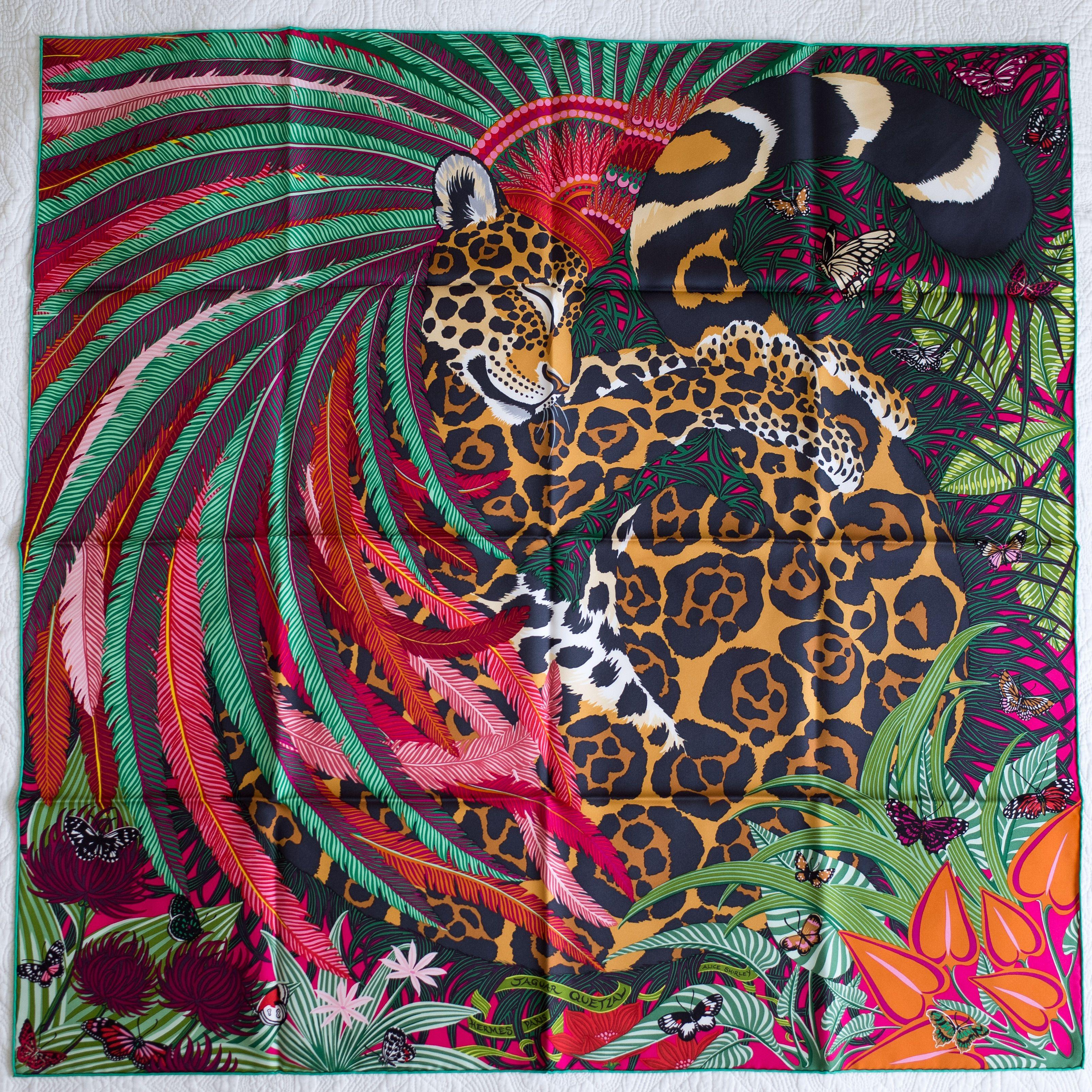 Jaguar Quetzal by Hermes  hermes  passionforelegance   1 Hermès - H ... 3fd154a32cd