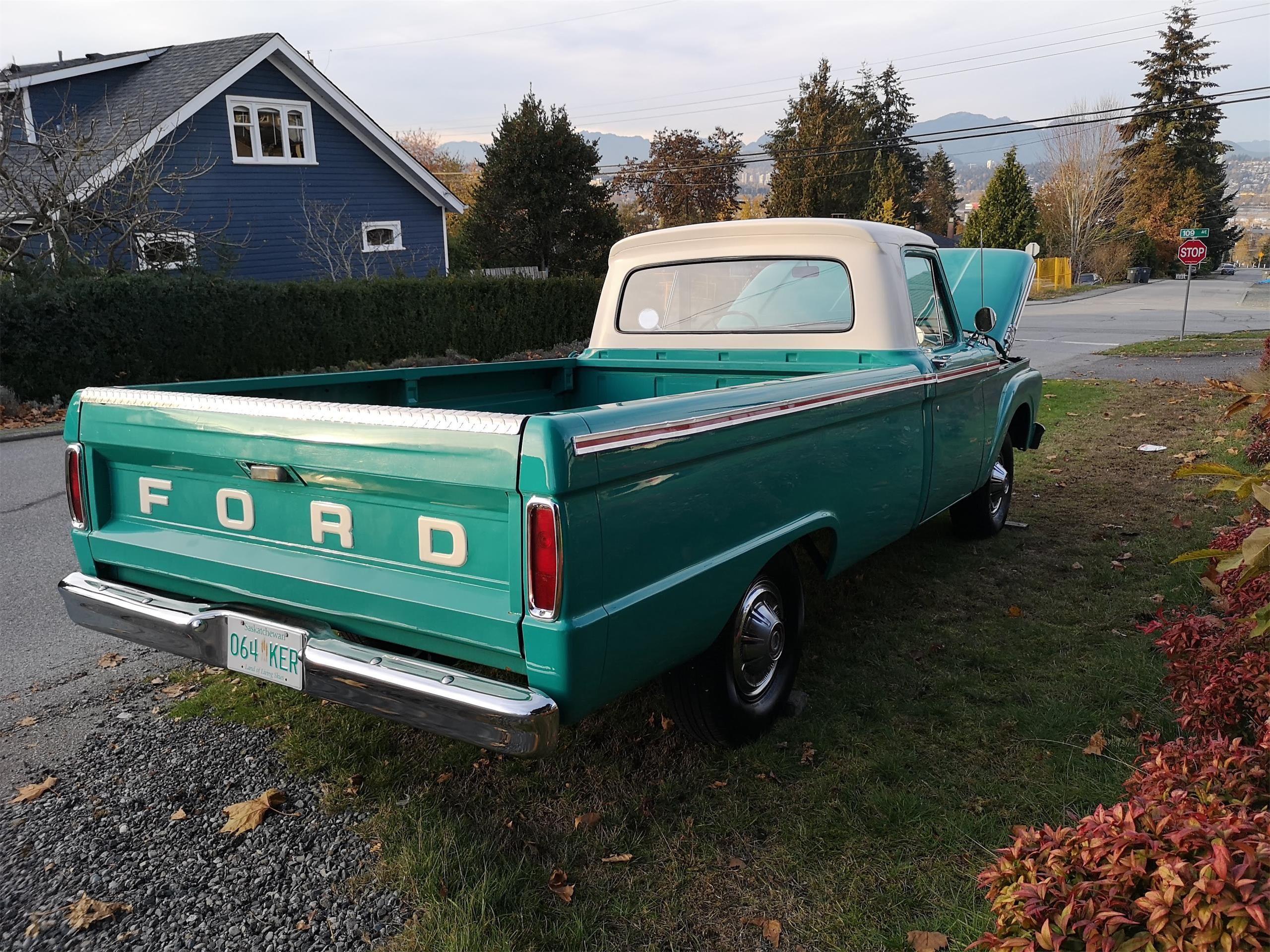 1964 Ford F100 For Sale Listing Id Cc 1163614 Classiccars Com