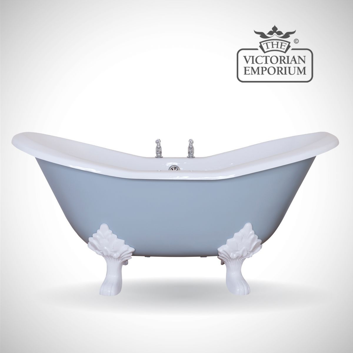 Buy Banbury cast iron bath - painted, Baths - The Banbury is a ...