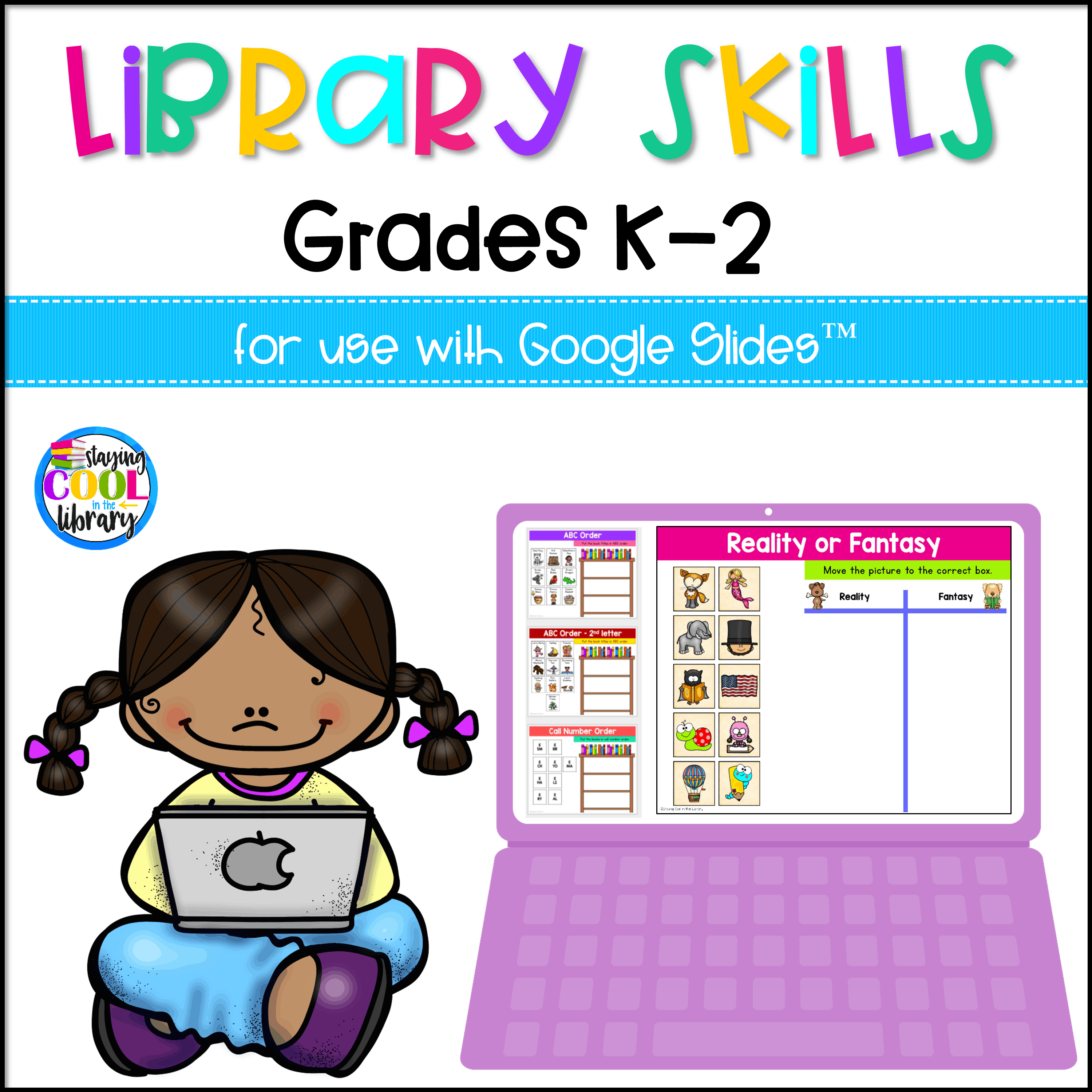 Library Skills Activities K 2 For Slides