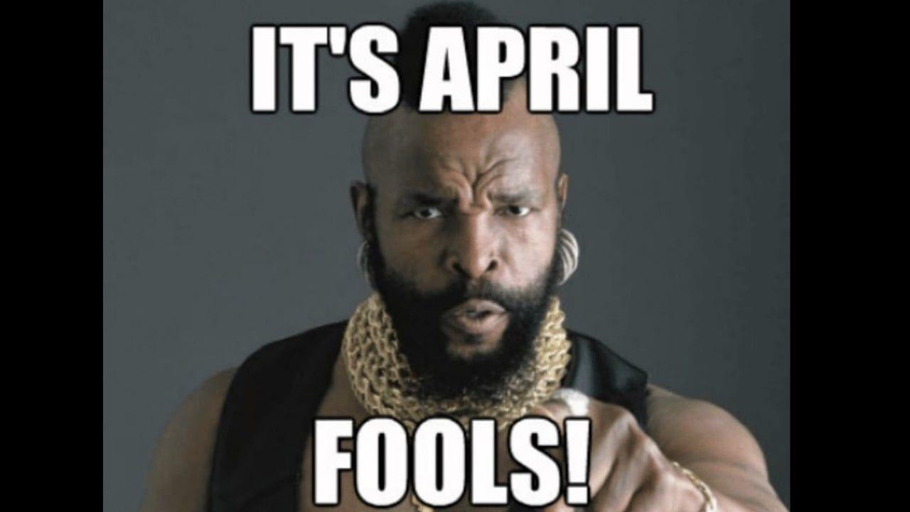 Best April Fools Memes April Fools Memes Funny Jesus Memes Birthday Meme