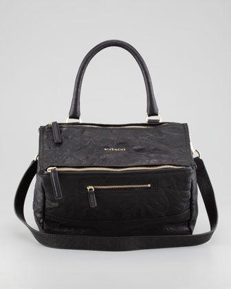 51e8a1d8087 Pandora Pepe Medium Shoulder Bag, Black by Givenchy at Bergdorf Goodman.