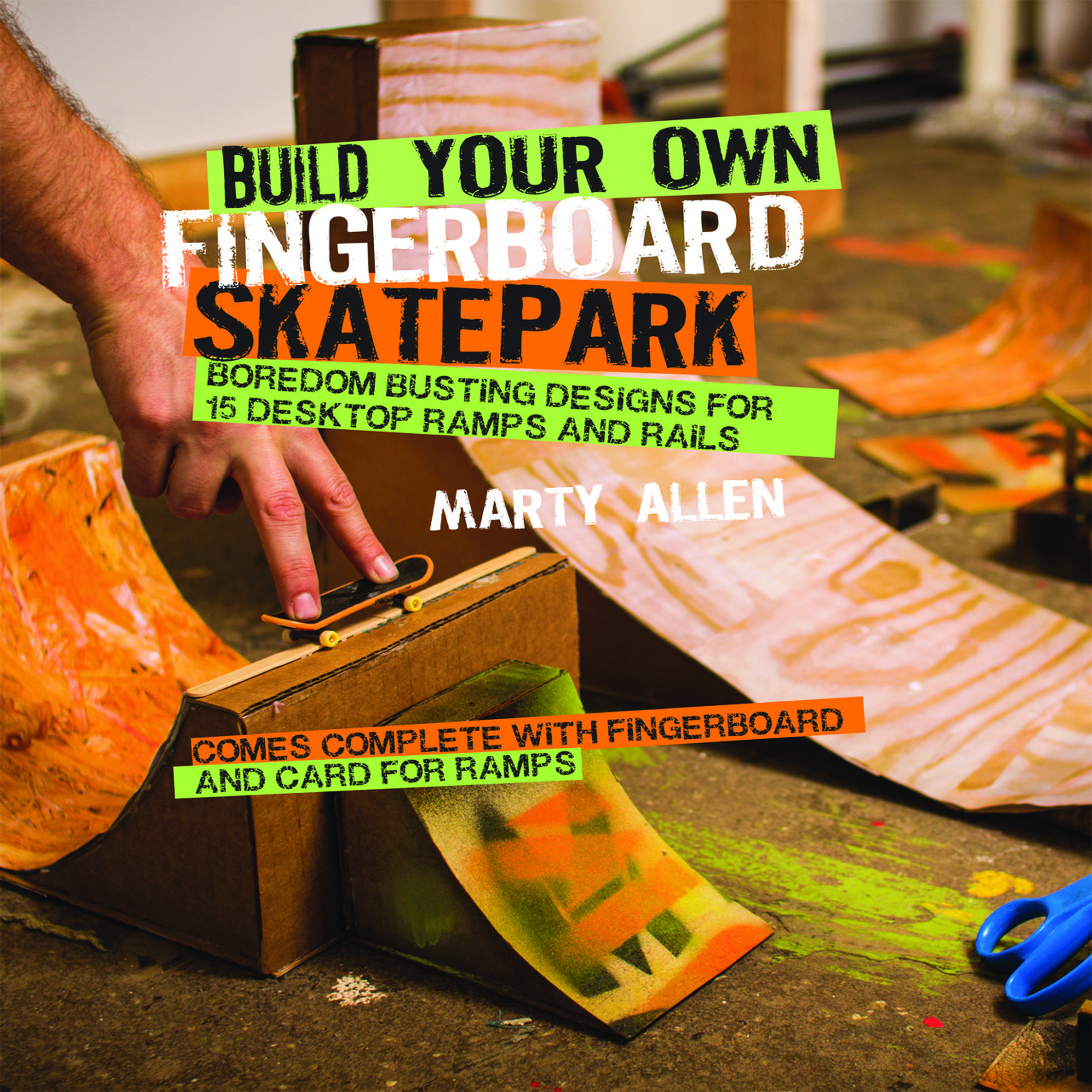 become the tony hawk of the fingerskating world build your own