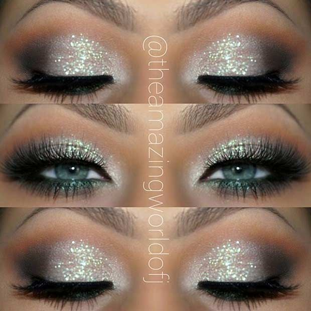 31 Eye Makeup Ideas for Blue Eyes | Pinterest | Makeup, Prom and ...