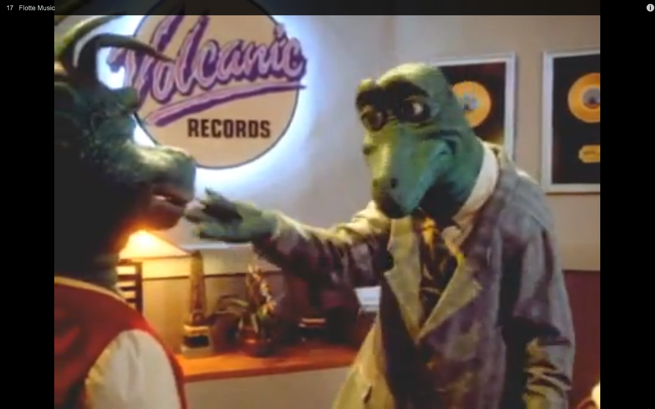 I Dinosaurs Ran From 1991 To 1994 And Was About