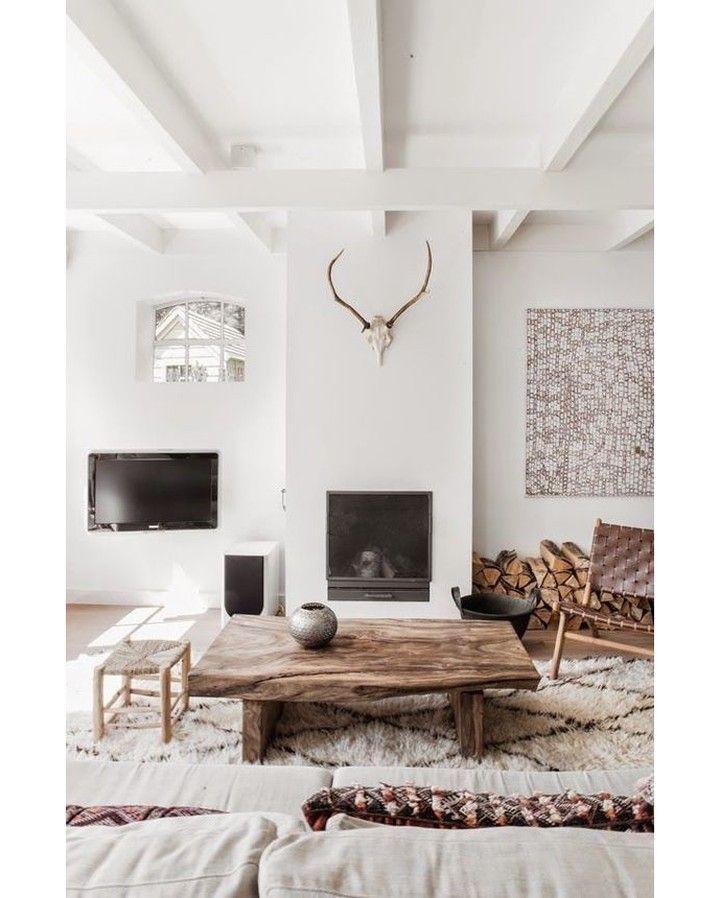via @homeadore: A serene Dutch home #livingroom #interior #interiors ...