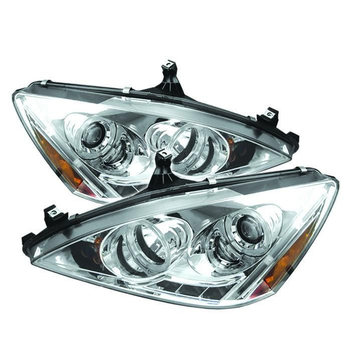 03-07 Accord Headlight Headlamp Front Head Light Lamp Left /& Right Side Set PAIR