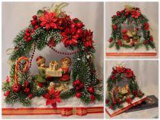 9b5bff7622d47ba идеи декора, новогодний декор, новогодние поделки, рождественское  оформление дома, украшаем дом к