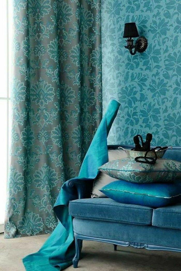 quelle couleur associer au bleu ptrole dans l39intrieur peinture. Black Bedroom Furniture Sets. Home Design Ideas