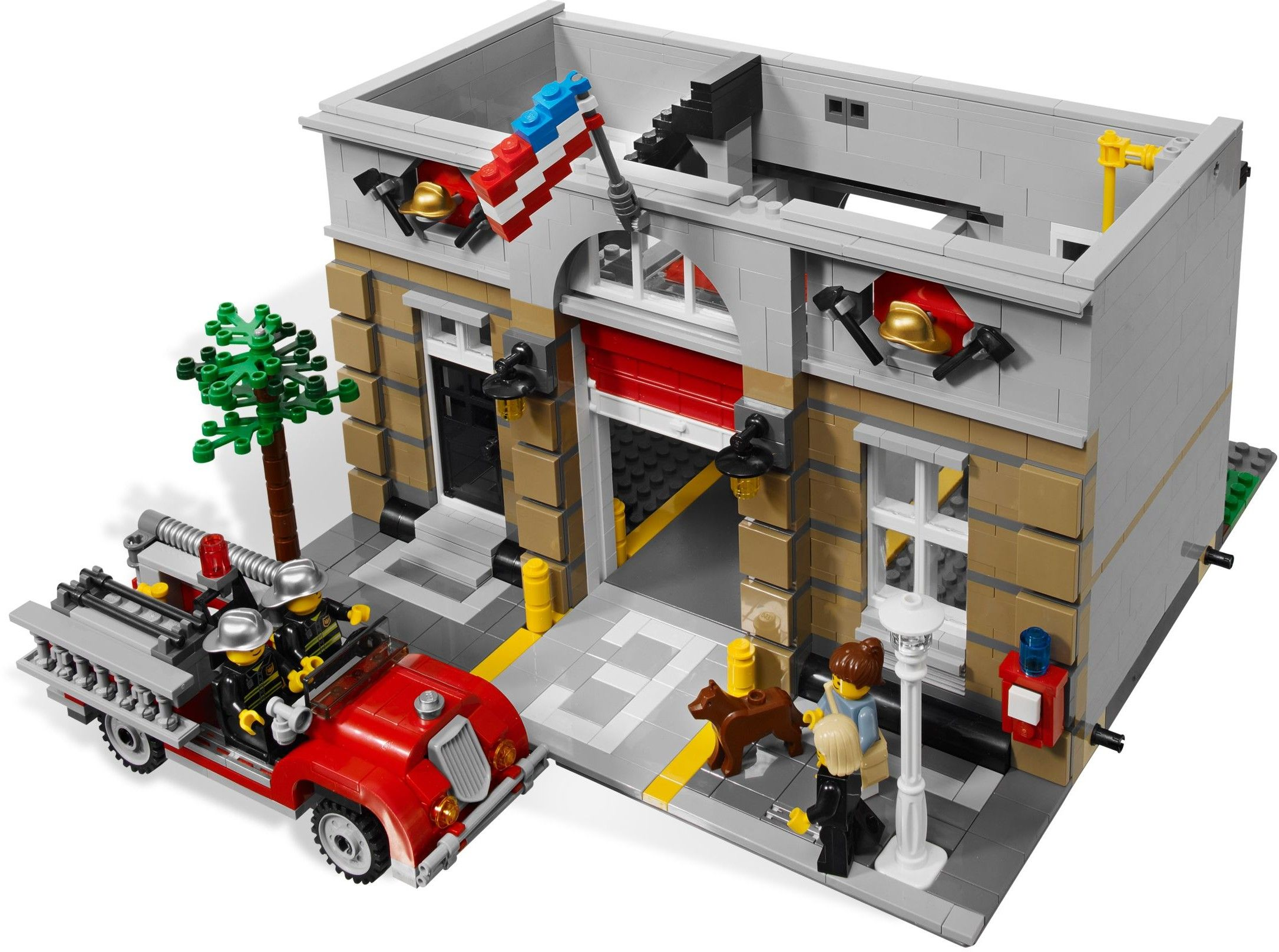 101971 Fire Brigade Fire brigade, Modular building