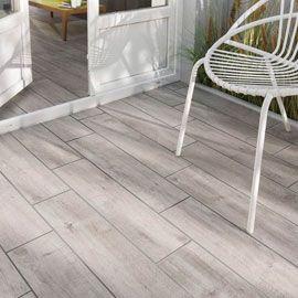 Carrelage sol gargano gris 15 x 60 5 cm int ext beau for Carrelage sol garage pas cher