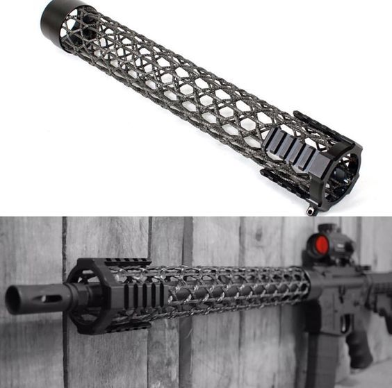 Brigand Arms created a Carbon Fiber Front Stock to minimize