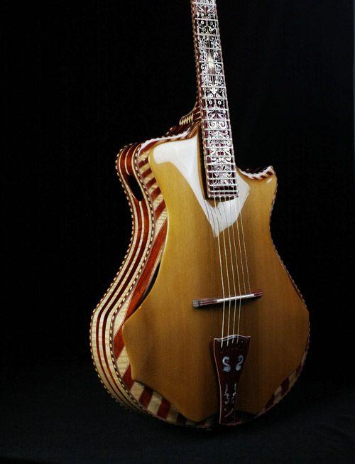 Meet Seattle S Guitar Maker To The Stars Guitar Guitar Design Beautiful Guitars