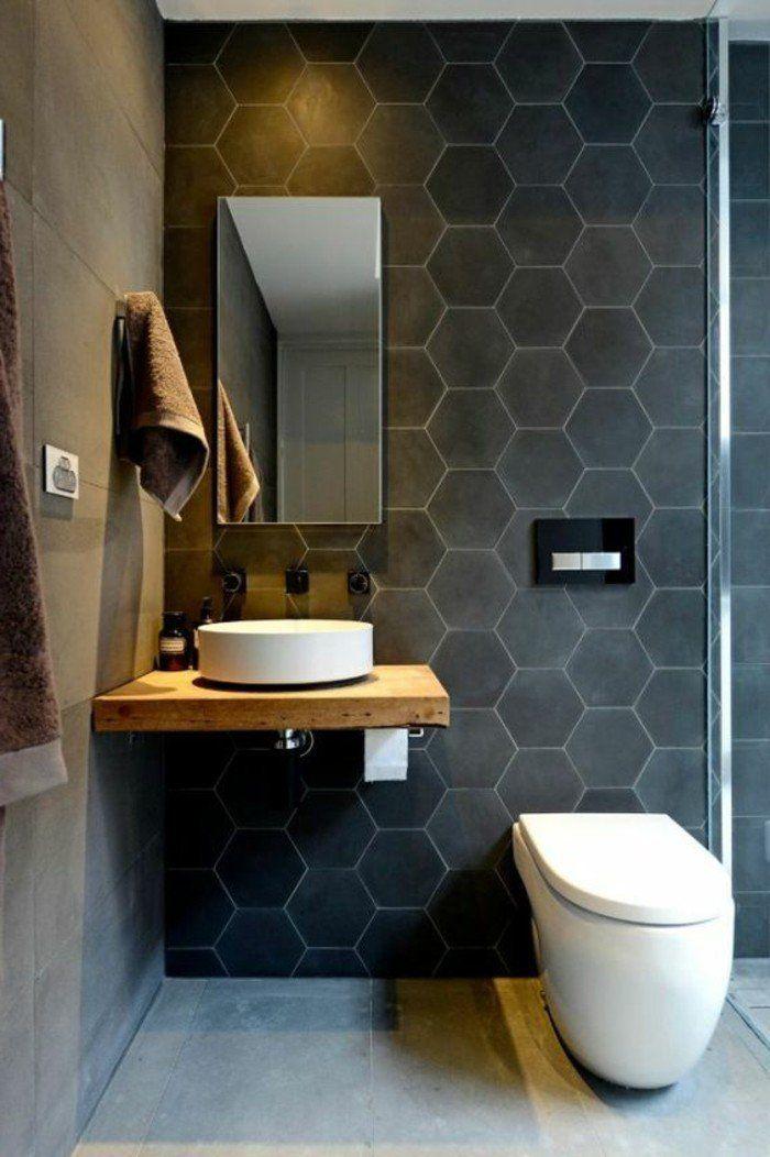 le carrelage hexagonal une tendance qui fait son grand retour home bathroom. Black Bedroom Furniture Sets. Home Design Ideas