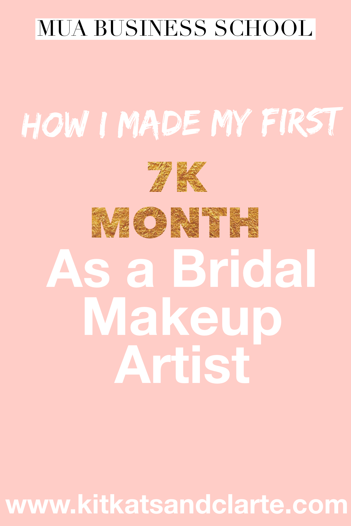 How's to start a business as a bridal makeup artist with