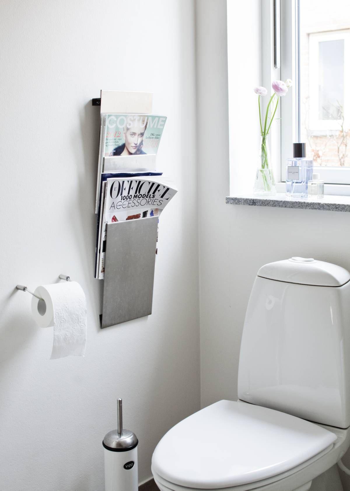 Edellisessä asunnossa ollut lehtiteline puolitettiin ja sijoitettiin vanhempien kylpyhuoneeseen.