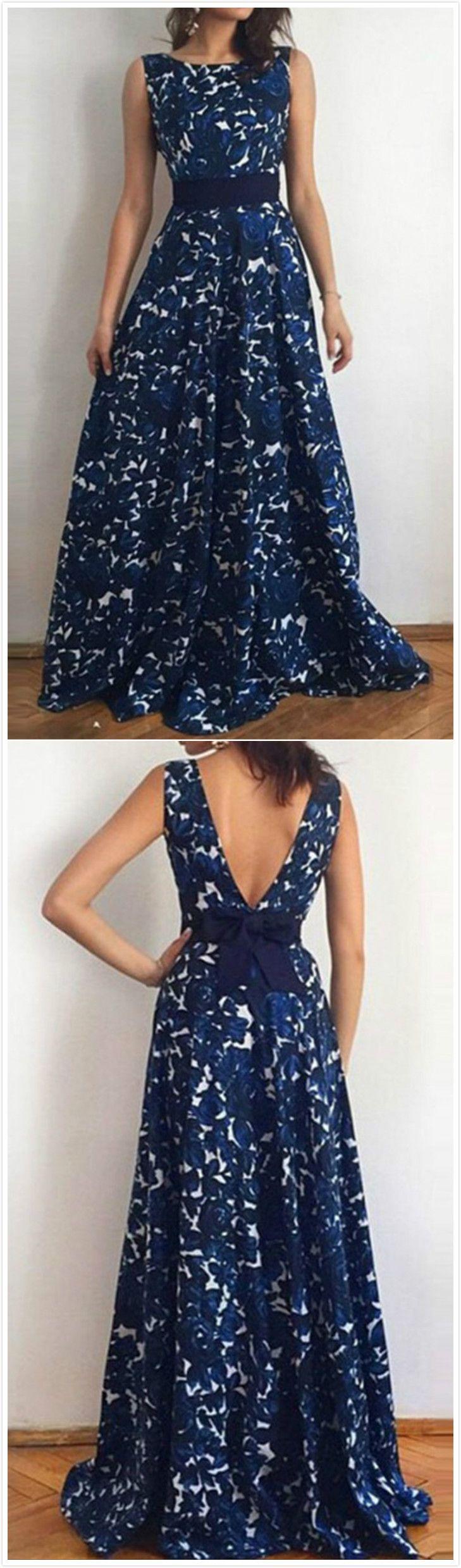Sleevelss Floral Print Maxi Dress   weiße Mode, Abendkleider und Kleider