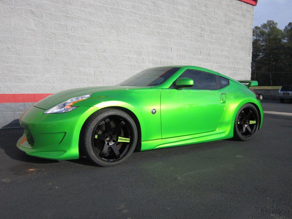 green nissan 370z roadster nissan pinterest nissan. Black Bedroom Furniture Sets. Home Design Ideas