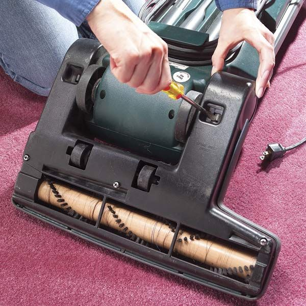 If it's taking more work to vacuum your house, it's probably time to replace the vacuum agitator belt. The good news is you can do it yourself in about fifteen minutes with two screwdrivers.