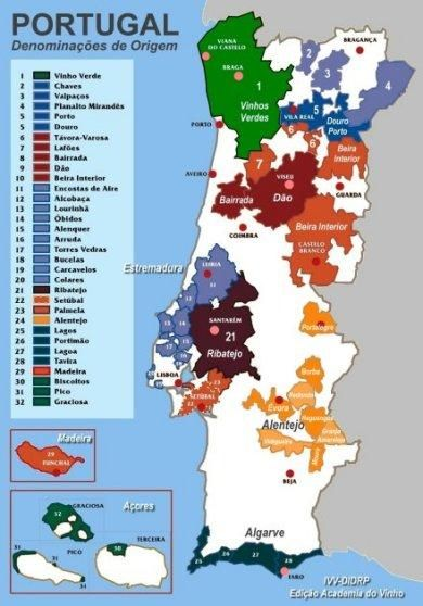 Classificacao Dos Vinhos Portugueses Wine Education Wine Guide