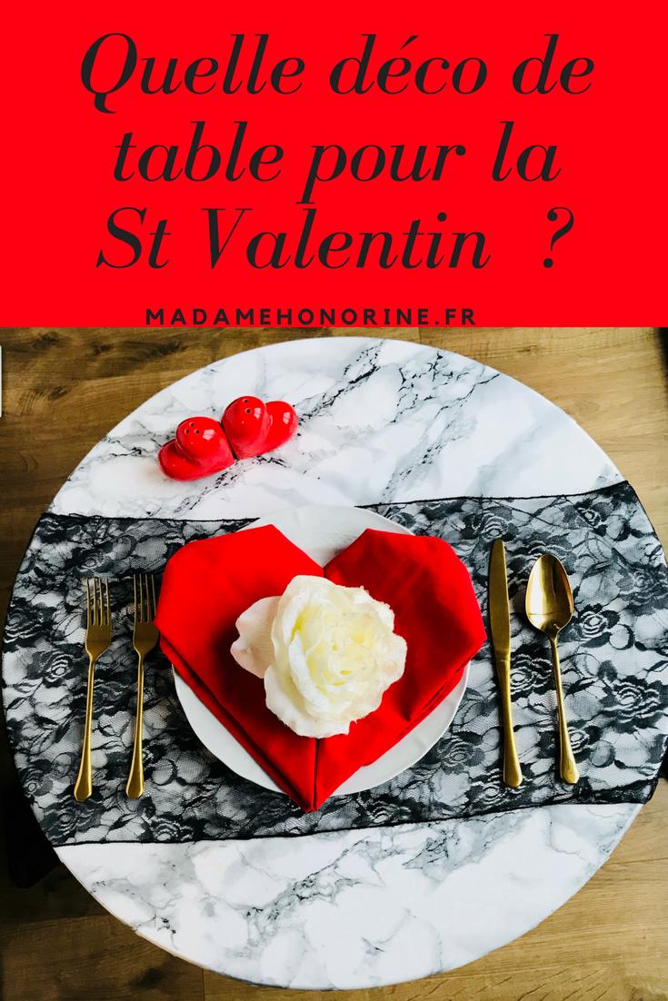 decoration #romantique #stvalentin comment faire une déco de table