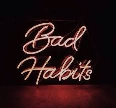 Image Result For The Word Habit In Calligraphy Alphabets Neon