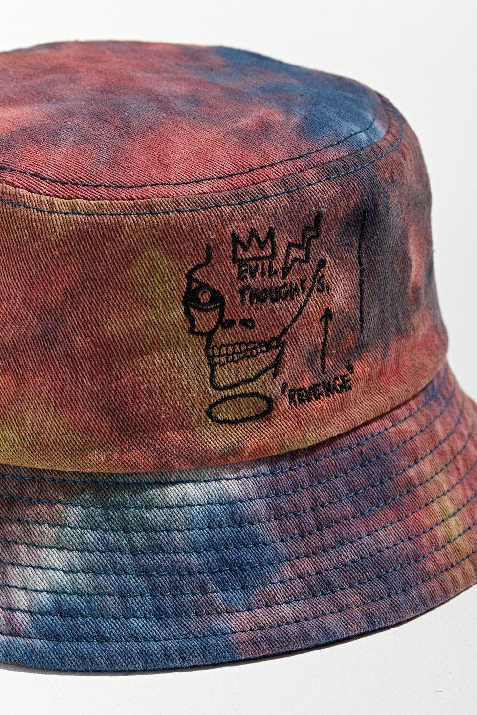 Basquiat Tie Dye Bucket Hat Tie Dye Bucket Hat Tie Dye Basquiat