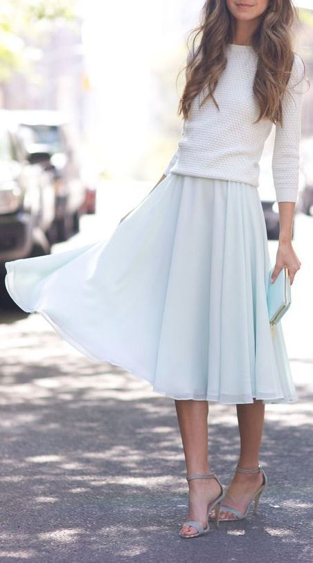 5 Tips to Look Modest but Stylish #casualskirts