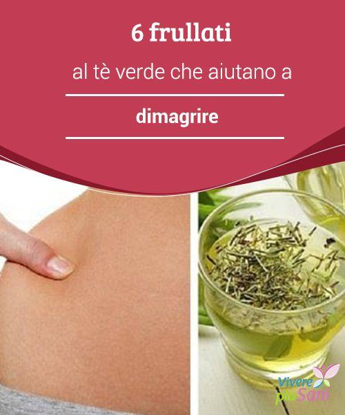 ricette con tè verde per perdere peso