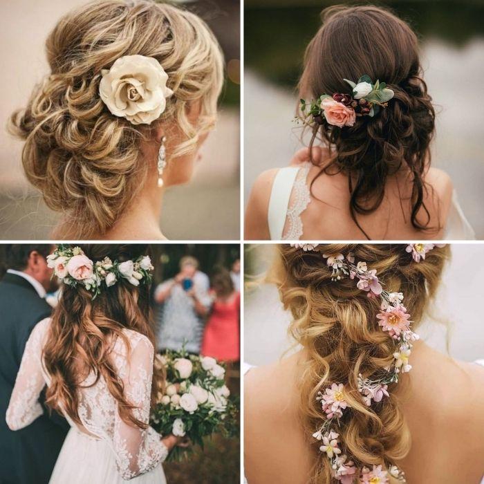 1001 + modèles féeriques de coiffure de mariage pour cheveux longs | Coiffure mariage, Cheveux ...