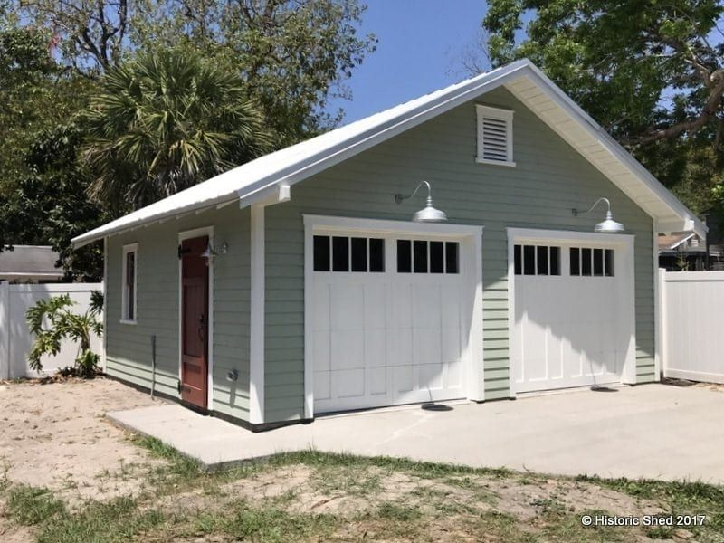 Two Car Garages Historic Shed Garage Door Design Building A Garage Two Car Garage