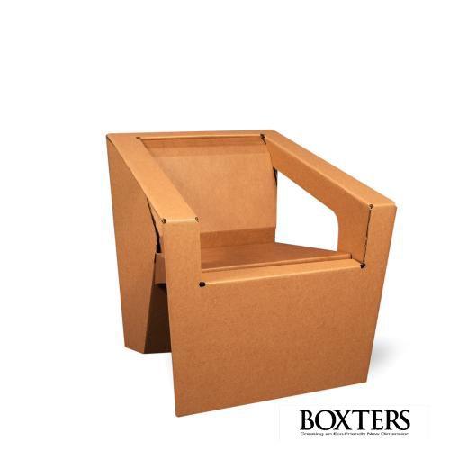 Cardboard folding chair   muebles de cartn   Pinterest ...
