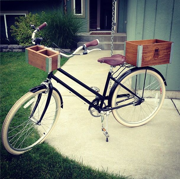 City Bike Customization | Bike Design | Handcrafted Front Crate