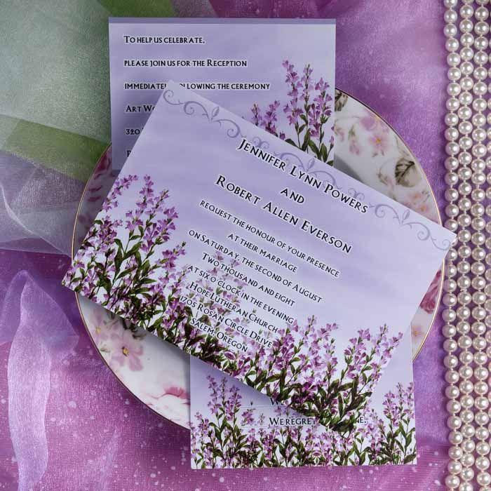 romantic lavendar wedding themes | The Love Of Lavender Wedding ...