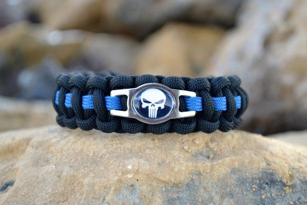 Thin Blue Line Punisher Paracord