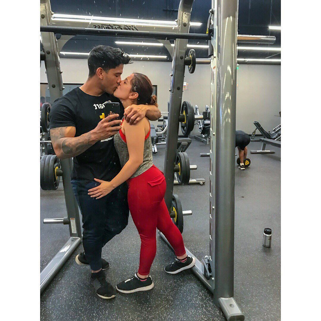 . . . #love #fitnesscouple #kingandqueen #lovequotes #fitnesslife #legworkout #motivationgym