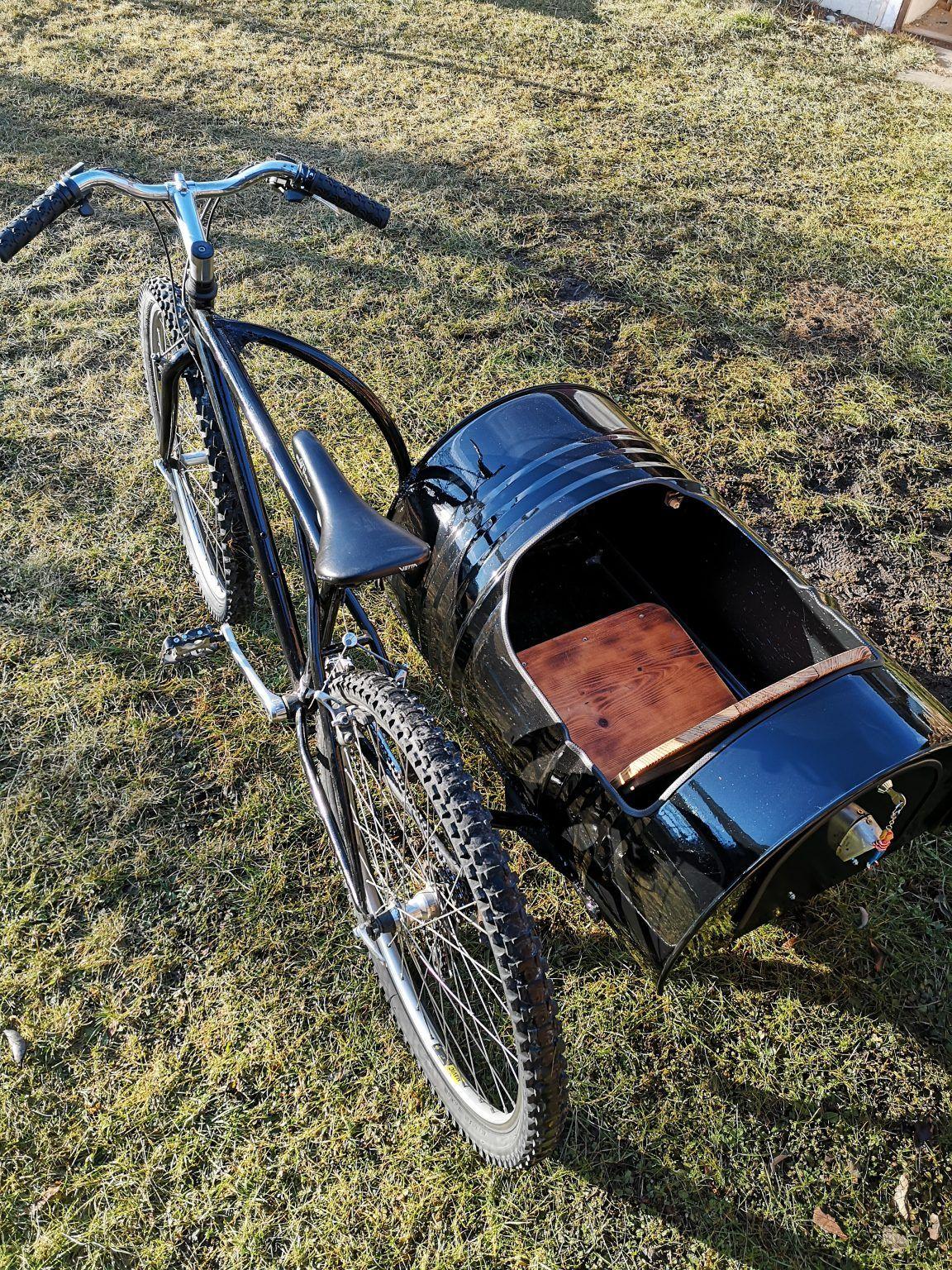 Projekt: Fahrrad mit Beiwagen