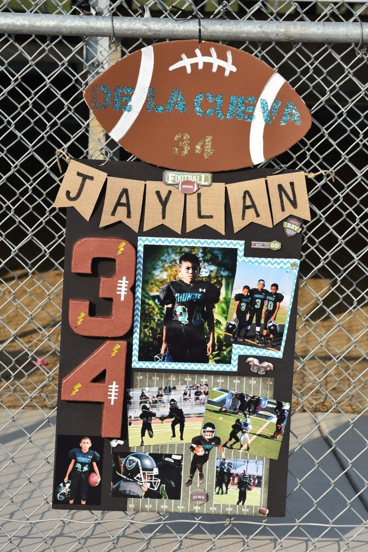 Poster With Images Senior Football Senior Night Football Football Locker Decorations