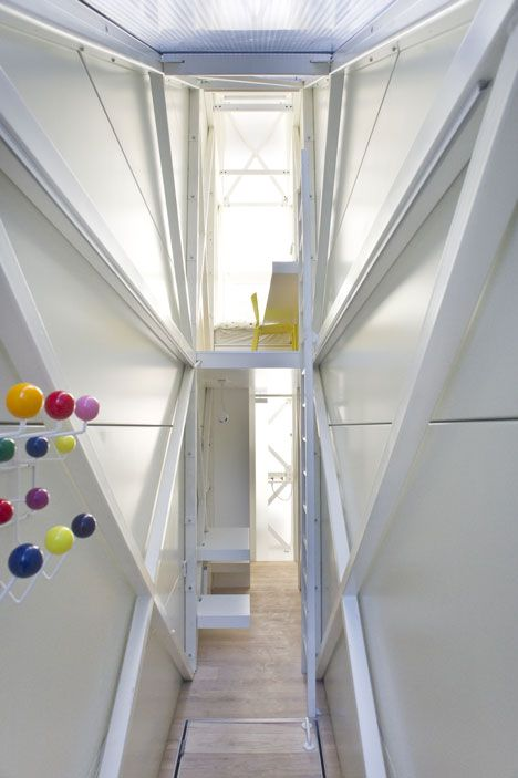 Keret House Jakub Szczesny The World S Narrowest House Just 122 Centimetres Across At Its Widest Point Wa Narrow House Designs Narrow House House Design