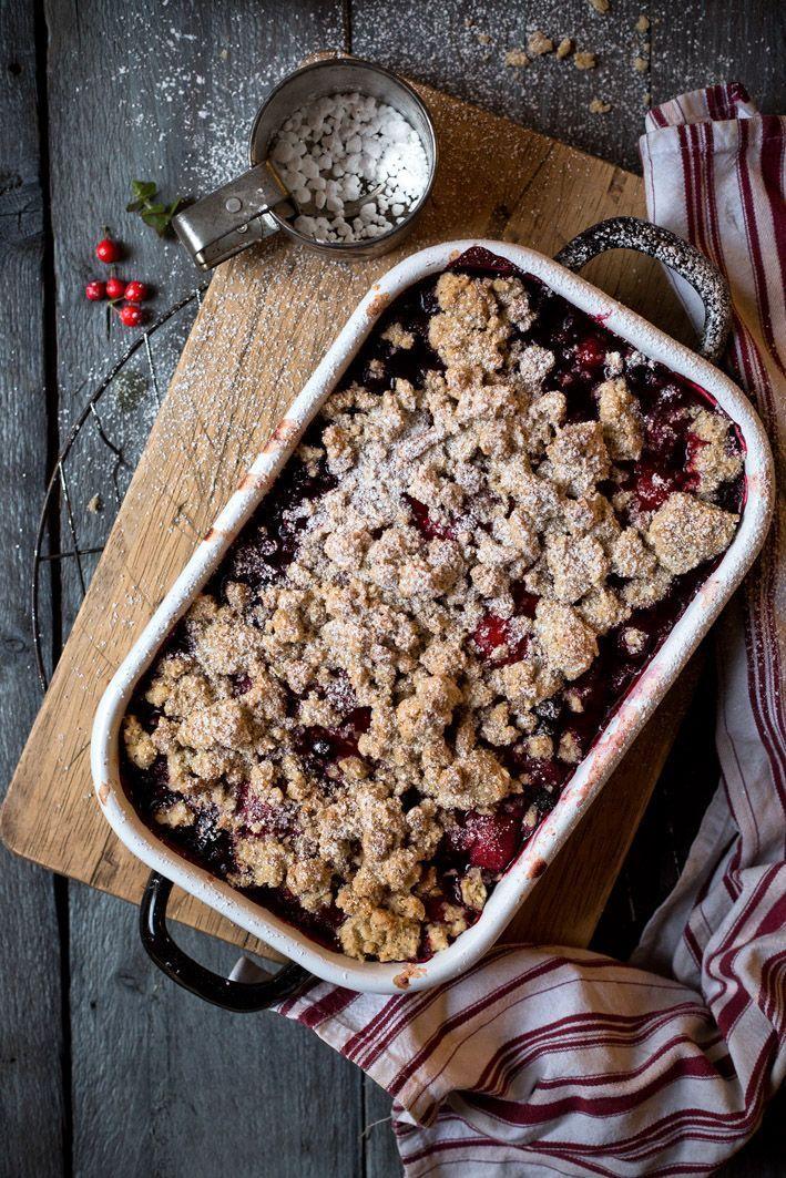 Photo of Christmas Crumble – weihnachtliches Crumble-Rezept mit Beeren.
