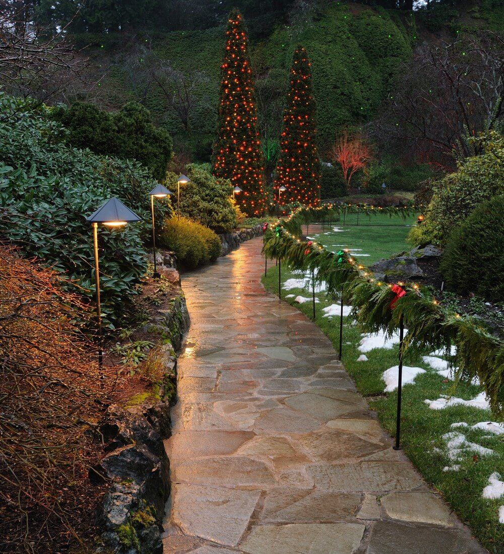 Lovely #outdoor #walkway #lighting #design #ideas