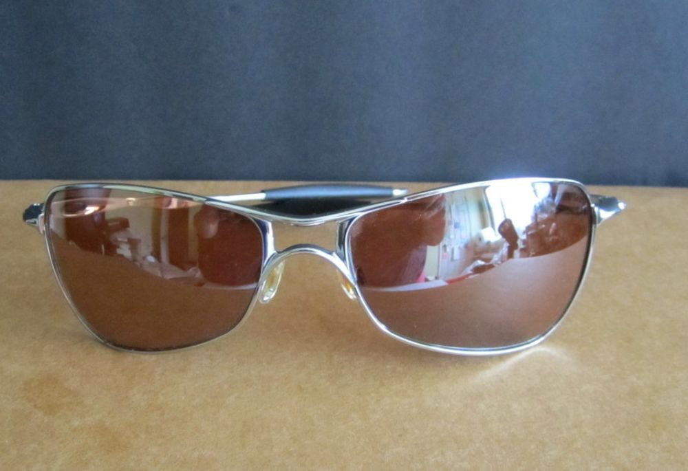 e9f1641e202 Oakley Sunglasses Crosshair Brown Chrome Bronze Polarized  Oakley  Crosshair