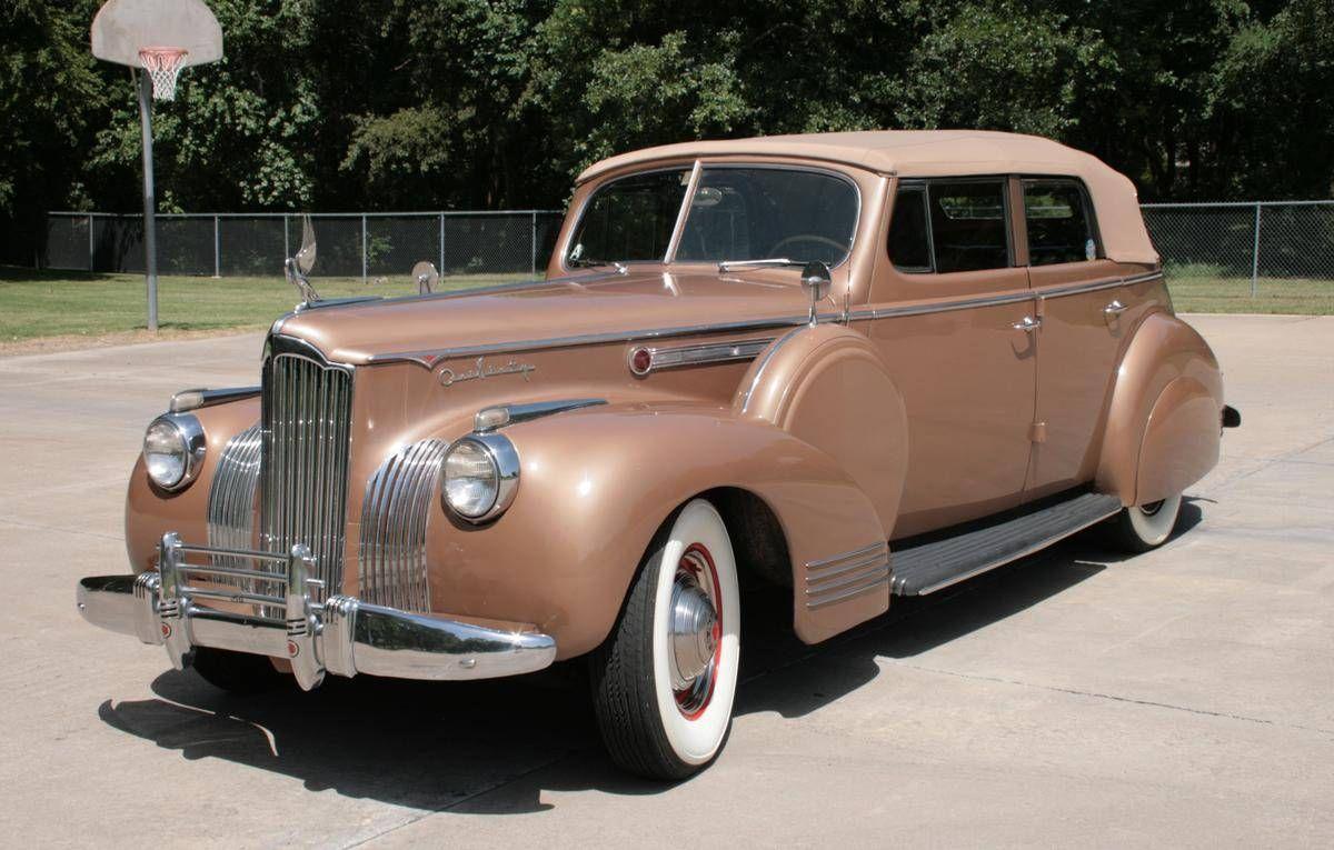 1941 Packard 160 Super 8 4 Door Convertible
