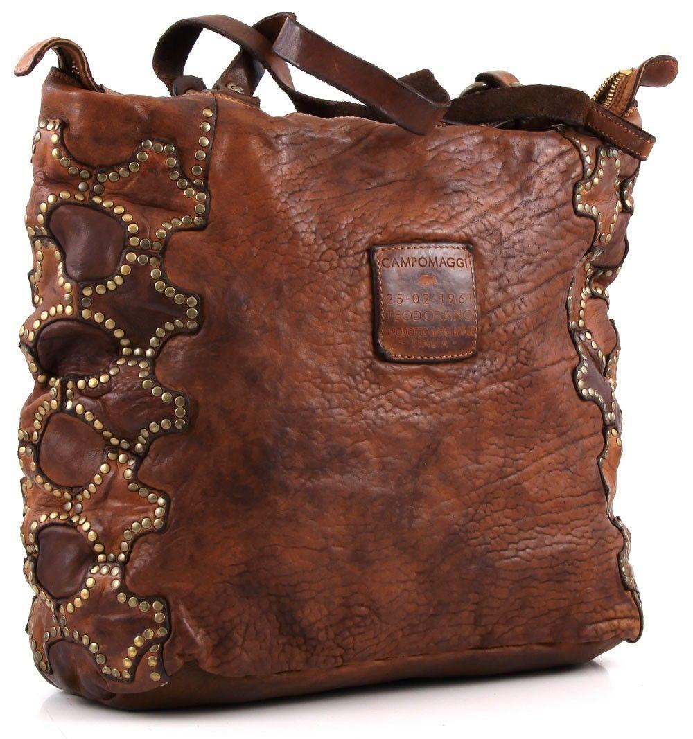 be6c68ac3418 Campomaggi Lavata Tote Leather cognac 42 cm - C1398VL-1702 ...