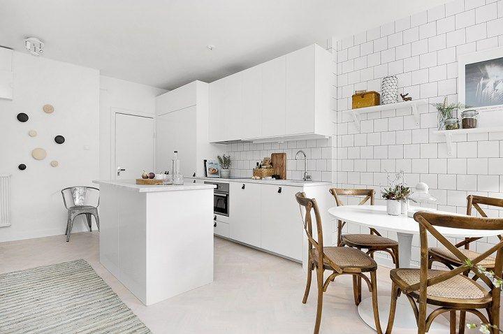 madera natural interiores espacios pequeos estilo nrdico escandinavo encimeras de mrmol decoracin moderna decoracin mini pisos