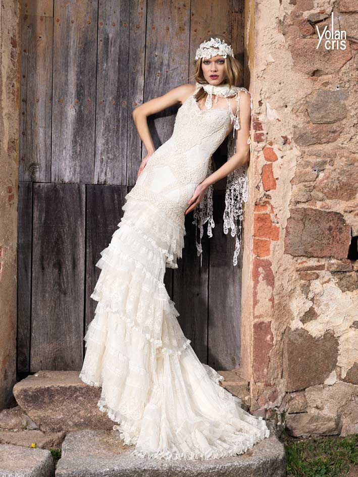 Yolancris Boho Chic Wedding Dresses New Collection