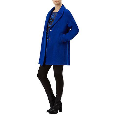 Buy Fenn Wright Manson Petite Helios Coat, Blue Online at johnlewis.com