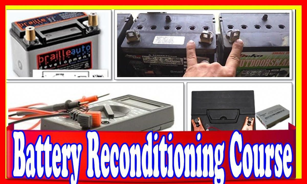 Battery Reconditioning Course Review How To Learn
